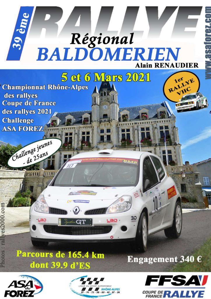Affiche Rallye Baldmorien