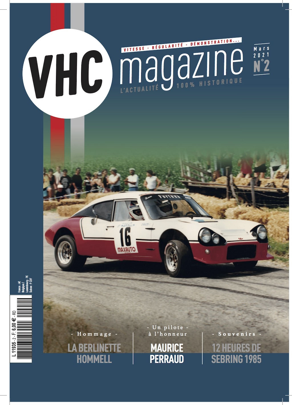 Couverture VHC magazine n°2