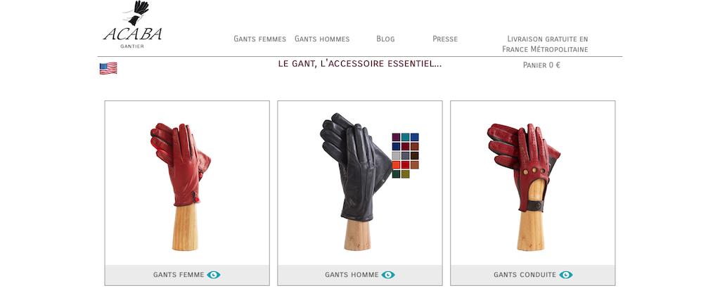 ACABA Gantier site internet